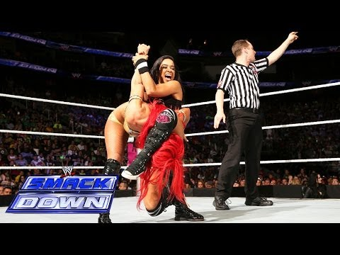 AJ Lee vs. Eva Marie: SmackDown, July 4, 2014