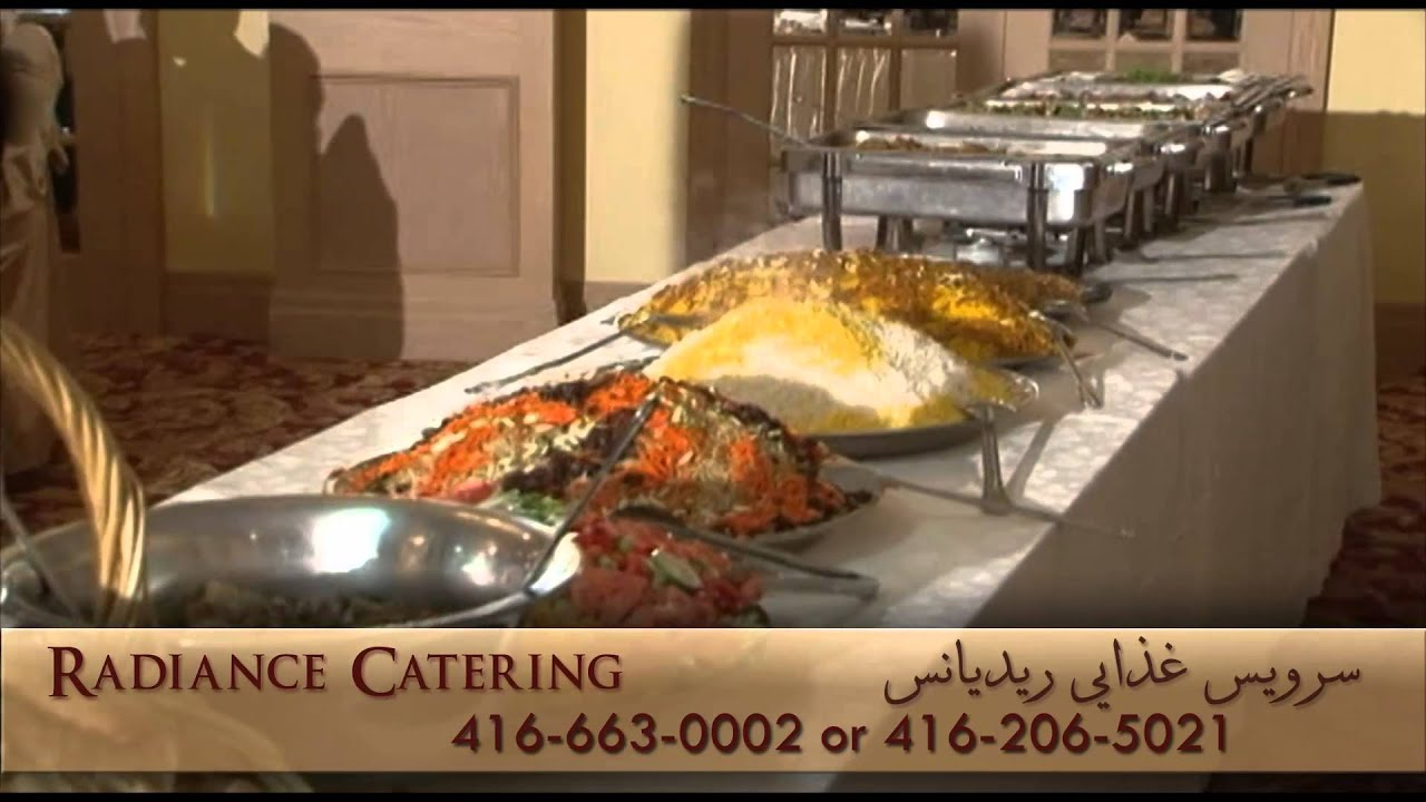 Radiance catering afghan wedding catering toronto youtube for Afghan cuisine toronto