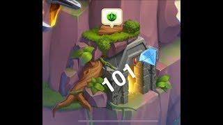Monster Legends - Treasure Cave #1 | 101 Gems - How many doors??