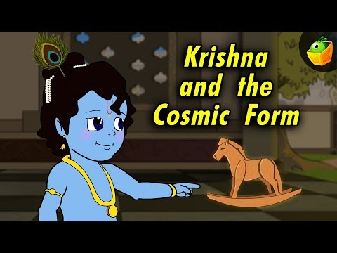 Sri Krishna - 02 Krishna And His Cosmic Form - Animated   Cartoon Stories In Hindi video