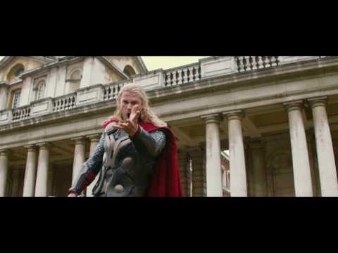 Marvel s thor the dark world bonus clip bloopers buy it first