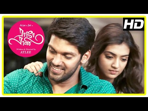 Raja Rani Tamil Movie | Arya and Nazriya Back to Back Scenes | Nayanthara | Jai | Santhanam | Atlee