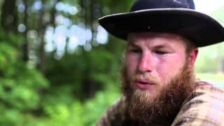 Civil war re-enactor Philip Brown walks from New Bern to Durham
