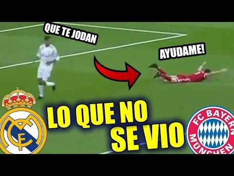 LO QUE NO SE VIO entre Real Madrid vs Bayern Munich 2-2 Resumen thumbnail