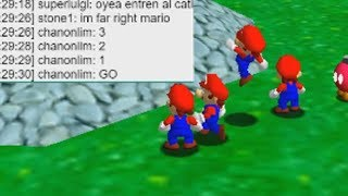 Destroying Random People In Mario 64 Online Again
