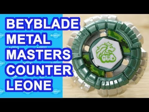 Beyblade Metal Masters Counter Leone BB-04 Beyblade Review Unboxing