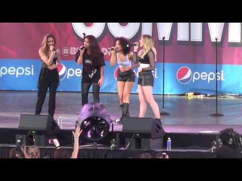 Little Mix Chicago 14 June 2014