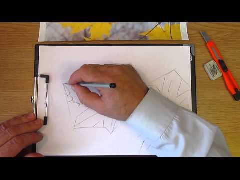 Видео как нарисовать маленькие листья