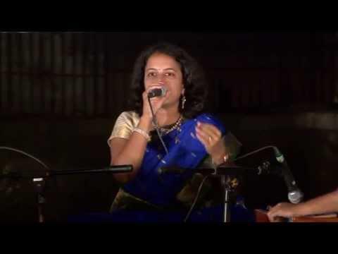 Perfoming Marathi Song Jaun Piklya Jhada Khali