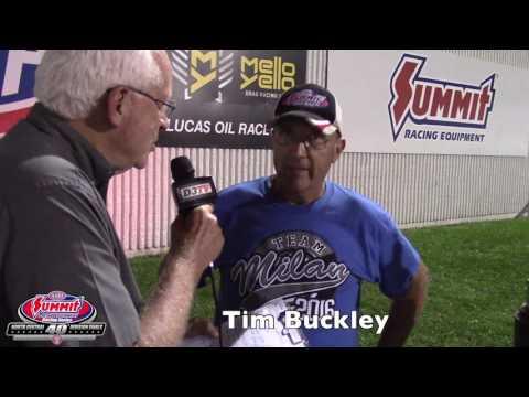 Tim Buckley - 2016 Summit Racing Series Division 3 Super Pro Champion