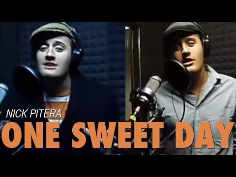 Me Singing One Sweet Day Mariah Carey Boyz 2 Men Nick Pitera (Cover) Video