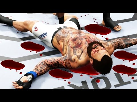 The Best/Brutal Way To Knock Him Out ! Ea Sports UFC 2 Gameplay #2 Ultimate Team