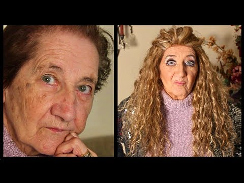 DRAG QUEEN TRANSFORMATION Grandma Demis (makeup tutorial)