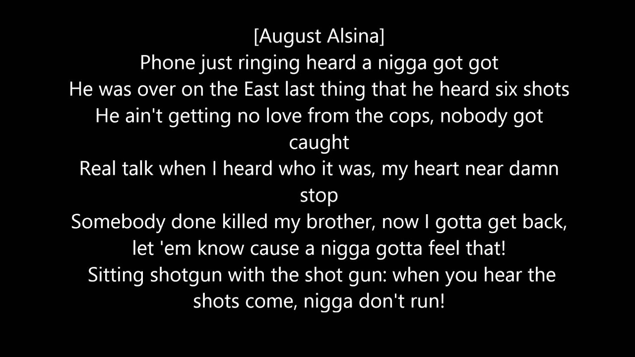 August alsina downtown lyrics ft kidd kidd r i p melvin labranch