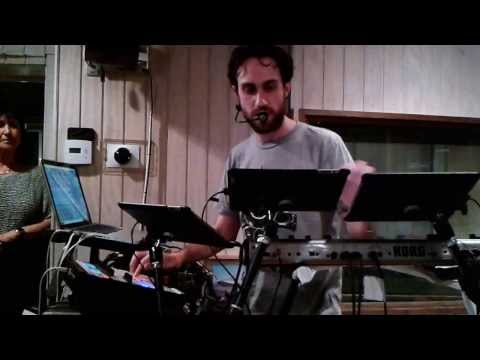 Jam in Herbie Hancock's Studio - Beardyman looping Herbie's synth.