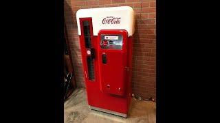 1950's Coca Cola Vending Machine Fully Restored SOLD