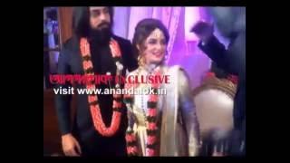 Shrabonti-Krishan marriage ring ceremony