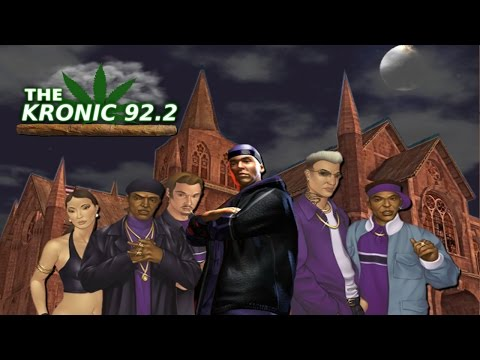 Saints Row 1 - The Kronic 92.2 (Complete Rap Radio Station Soundtrack)