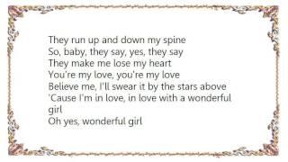 Watch Dion Wonderful Girl video