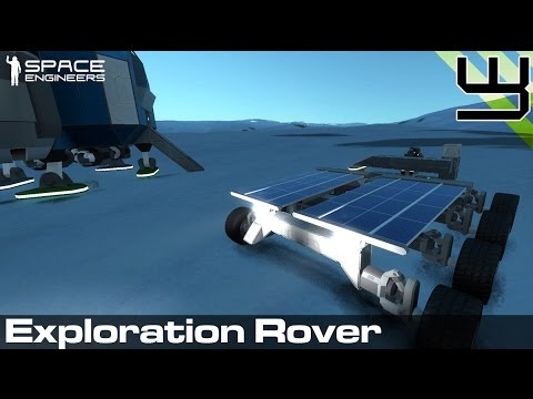 Planets Survival Guide #2: Exploration Rover mk1 (Space Engineers)