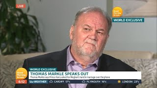 Meghan Markle's Dad Thomas Breaks His Silence in First TV Interview