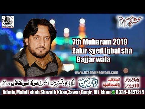 live Ashra Mjalis (Z Iqbal shah bajjar wala)  07 Muhrram tarlai kalan islamabad   2019
