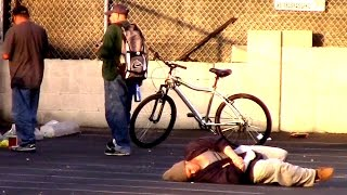 KILLING A HOMELESS MAN FOR MONEY (SOCIAL EXPERIMENT)