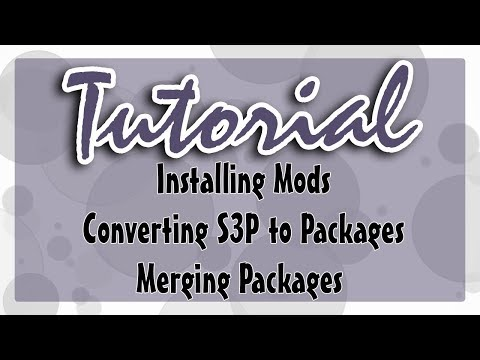 Sims 3 Tutorial: How to Install Mods/CC + Merging and Converting Packs to Packages