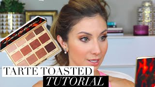 Warm Eye Makeup Tutorial | Tartelette Toasted Palette | Lisa J Makeup