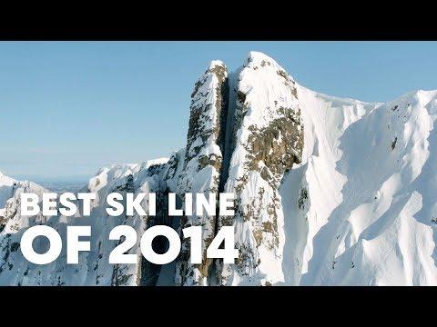 Best Ski Line Of 2014 - Cody Townsend's Epic Chute video