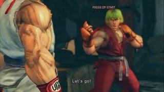 Ultra Street Fighter IV - Ryu vs. Ken | PS3 Gameplay