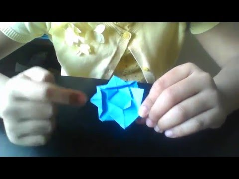 Origami - Paper Flower Easy version for Beginners - by Shikha