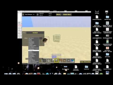 minecraft how to enchant your sword up to level 127!