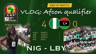 NIGERIA VS LIBYA|IGHALO SCORED A HAT TRICK| NFF PRESIDENT PLAYS FOOTBALL|ALEX IWOBI|SAMUEL KALU| UYO