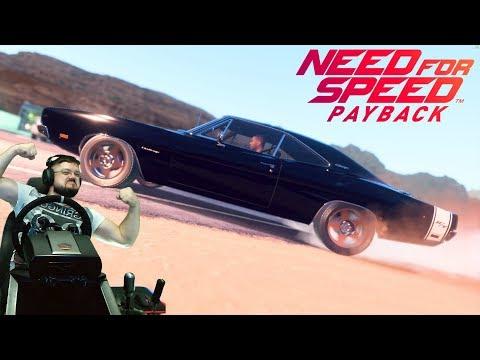 Потрясающая классика или как нагнуть сложных боссов на Dodge Charger R/T в NFS Payback