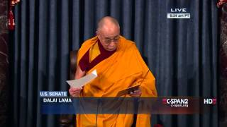 The Dalai Lama opens US Senate Session with Prayers |  03 06 2014