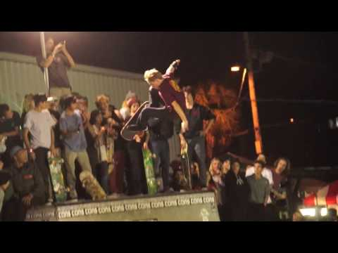 Jake Wooten Insane Backside Boneless Converse Cons Best Trick Jam