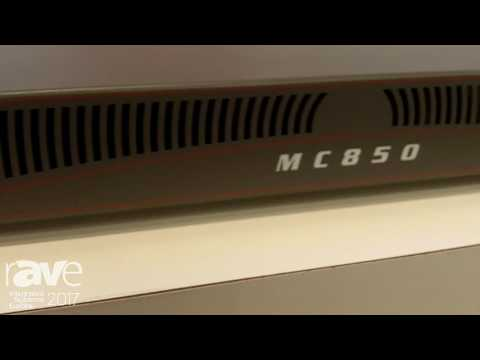 ISE 2017: Steward Audio Exhibits MC850 8 Channel Amplifier