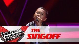"Christiano ""Always"" | Sing Off | The Voice Kids Indonesia Season 2 GTV 2017"