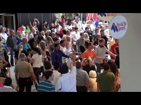 West Coast Swing Flash Mob 2010—Houston, TX—1080p HD!