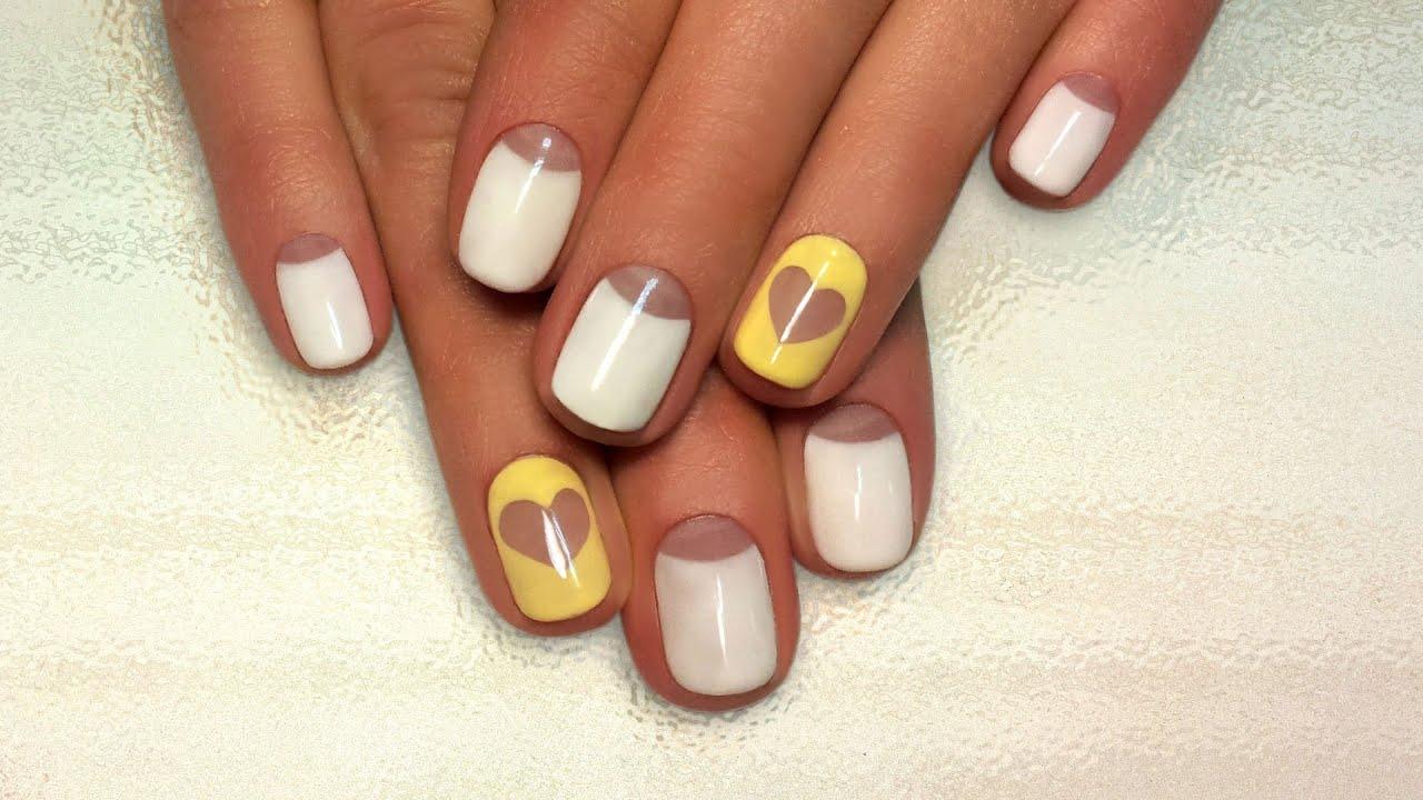 Простой дизайн ногтей гель-лаком для начинающих (40 фото) 77