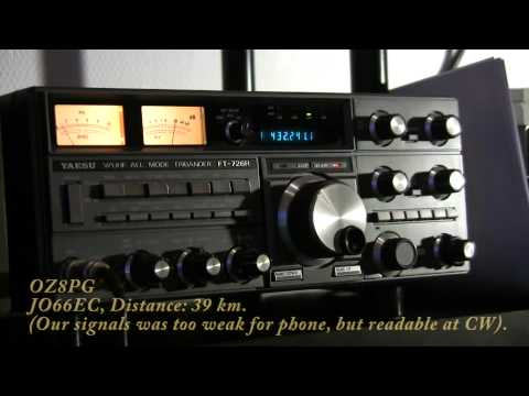 QSO clips from NAC UHF 432MHZ Contest May 2011