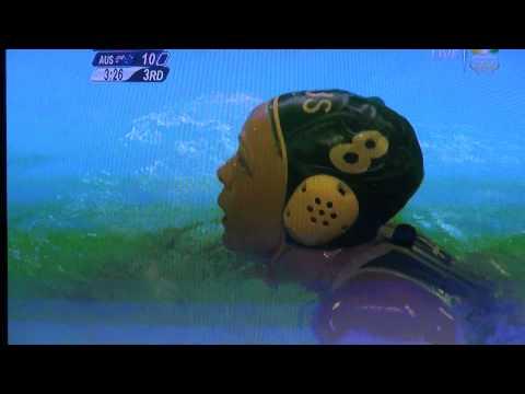 2012 Olympics - Water Polo - Austrailia vs China - Wardrobe Malfunction ??