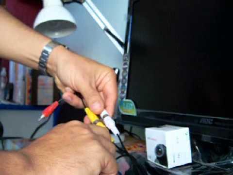Mini camara de Seguridad espia RCA para conectar a  TV o RCA heredia Costa Rica