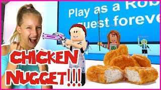 Fight For the CHICKEN NUGGET!