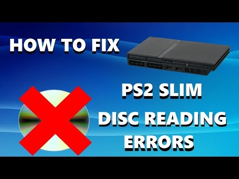 How to FIX PS2 Slim Disc Reading Errors