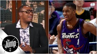 Tracy McGrady defends old Raptors jerseys, Paul Pierce calls them 'worst' ever | The Jump