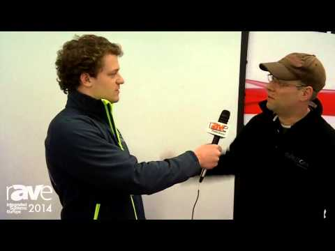 ISE 2014: Russ Interviews David with Projecta