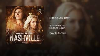 Nashville Simple As That