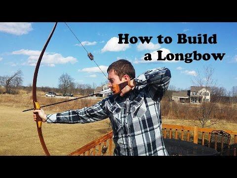 How to Build a Reflex Deflex Longbow (Hybrid Longbow)